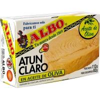 Atún Claro en Aceite de Oliva Lata Fácil Apertura 112 gr de Albo