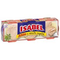 Isabel Atún en Aceite Vegetal (Pack 3x52g.)