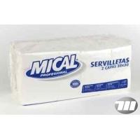 SERVILLETA MICAL BCA 30X30 2C 200U