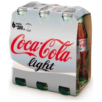 COCACOLA LIGHT  6X20CL