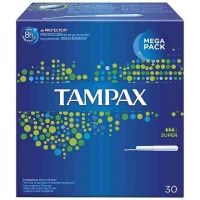 TAMPAX SUPER MEGA PACK 30U