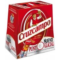CERVEZA CRUZCAMPO 25CL P-6