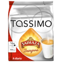 CAFÉ TASSIMO CAPSULAS SAIMAZA DESAYUNO 16U