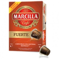 CAFÉ MARCILLA FUERTE CAPSULAS 10U