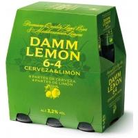 CERVEZA DAMM LEMON 25CL P-6