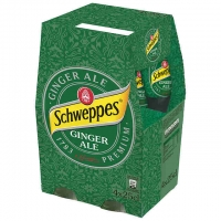 SCHWEPPES GINGER ALE 4X25CL