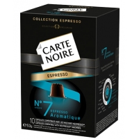 CARTE NOIRE N-7 AROMAQTIQUE 10U