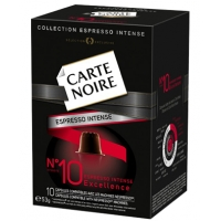 CARTE NOIRE N°10 ESPRESSO INTENSE Excellence 10U