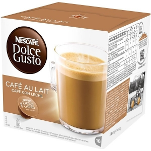 DOLCE GUSTO CAFE CON LECHE NESCAFÉ 8+8U