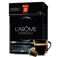Marcilla L'Arôme Espresso Café Cápsulas onyx
